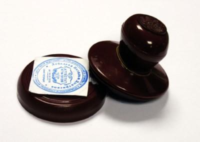 Изображение - Порядок нанесения печати в трудовую книжку при увольнении stamp-Custom