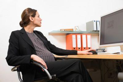 Прием на работу беременной женщны