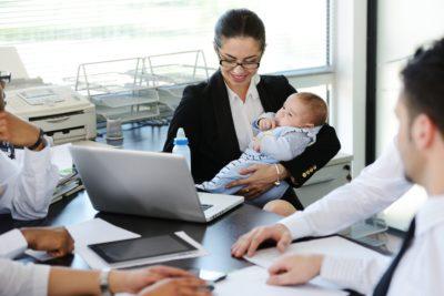 Увольнение в отпуске по уходу за ребенком до 3 лет по собственному желанию
