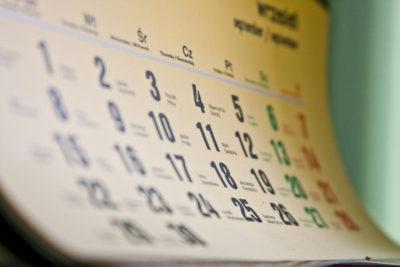 Дата написания заявления на отпуск